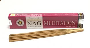 Vijayshree Golden Incense Sticks - Nag Meditation (15g = 15 sticks approx.)
